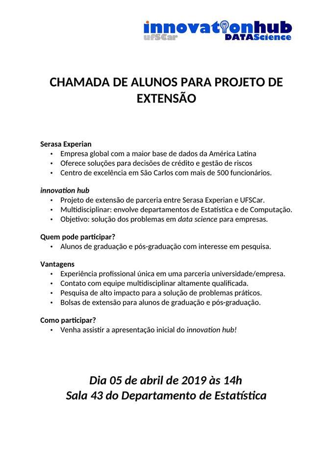 Projeto Innovation Hub